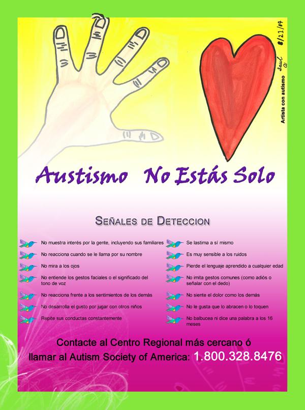 web Autismo Poster