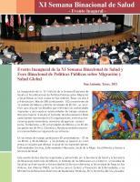 Forum 2011 Spanish
