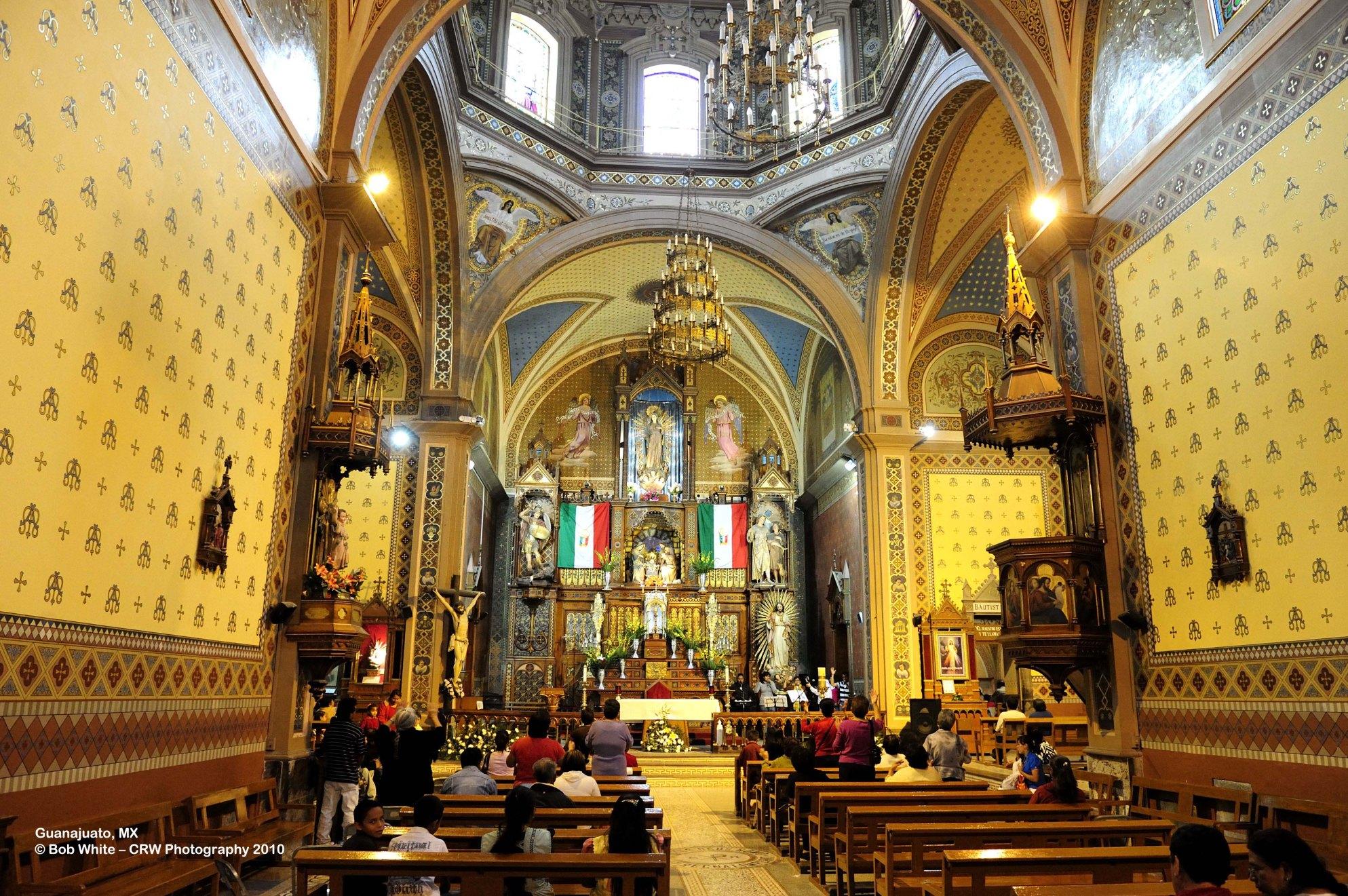 139 Catherdral, central Guanajuato