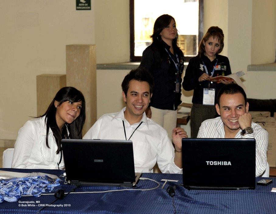 55 Conference Registration Staff