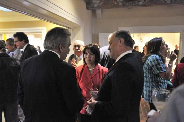 Elsa Aguilar, Javier Cabral & Jose Ignacio Santos network