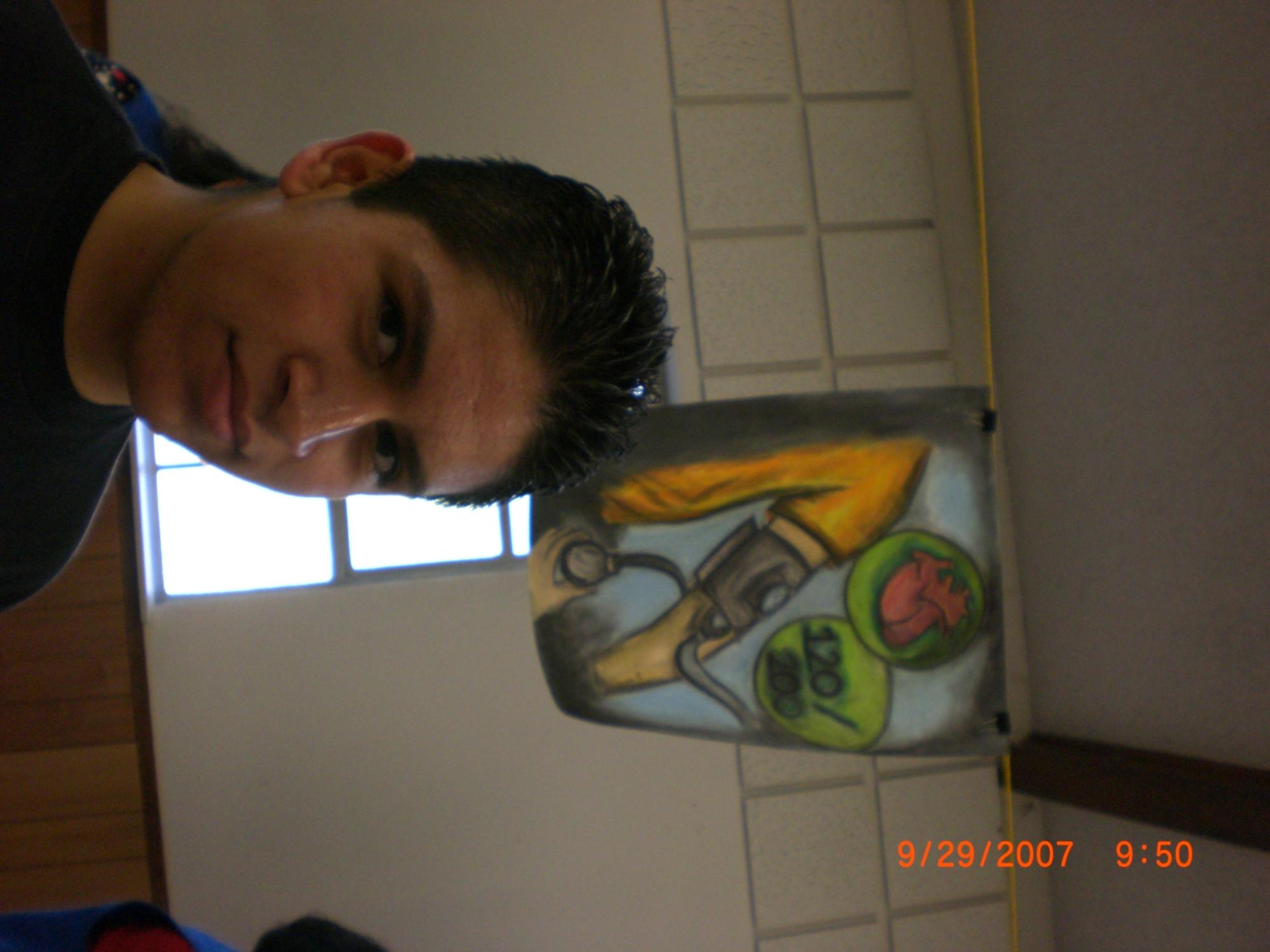 joven pintor