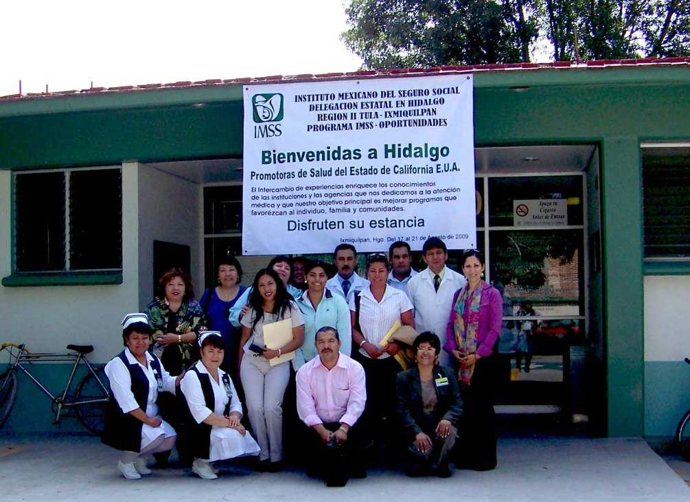 Promotoras Exchange (California to Zacatecas)