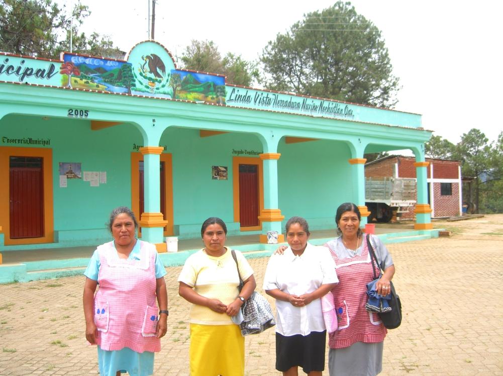 Oaxaca 2006 promotoras en La Herradura 093