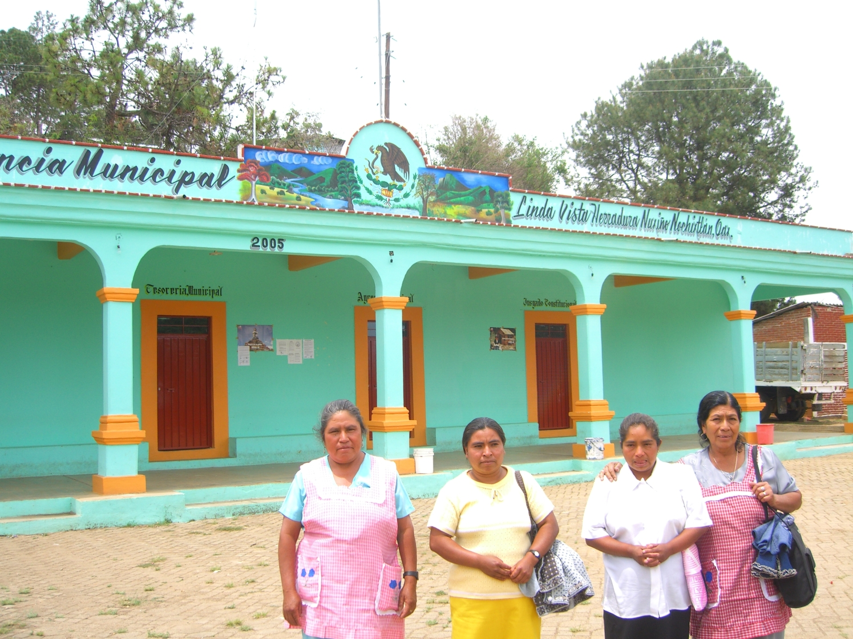 promotoras en la agencia municipal la Herradura Oaxaca 2006 092