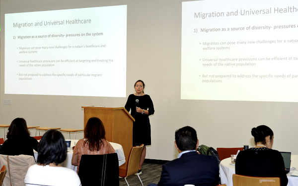 Information and discussion on the current state of world wide migration and health